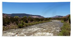 Chama River A Major Tributary River Beach Towel