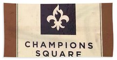 Champions Square Beach Towel