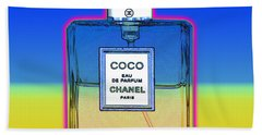Chanel Bottle 1 Beach Towel