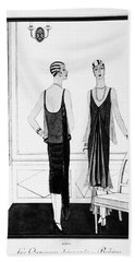 Chanel Illustration, 1926 Beach Sheet