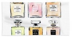 Chanel Perfumes Beach Towel