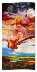 Channeling The Cosmic Goo At The Gorge Beach Towel