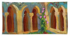 Chapel At St. Remy Beach Towel