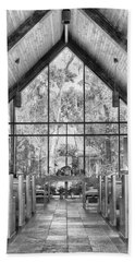 Beach Towel featuring the photograph Chapel by Howard Salmon