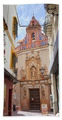 Chapel Of St. Joseph Of Seville Beach Towel