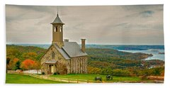 Chapel Of The Ozarks Beach Towel