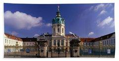 Charlottenburg Palace Schloss Beach Towel