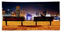 Charm City View Beach Towel