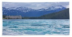 Chateau Lake Louise #2 Beach Towel