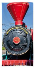 Chattanooga Choo Choo Steam Engine Beach Towel
