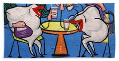 Chattering Teeth Dental Art By Anthony Falbo Beach Towel