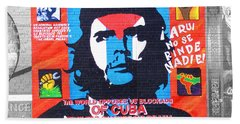 Che Guevara Beach Towel