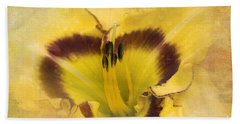 Beach Towel featuring the photograph Cheerfully Yours by Betty LaRue