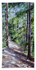 Cheraw Trail Beach Towel