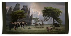 Beach Towel featuring the photograph Cherish Our Earth's Creatures by Melinda Hughes-Berland