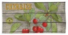 Cherries-jp2675 Beach Towel