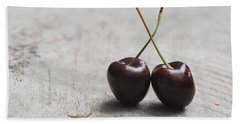 Cherry Duo Beach Towel