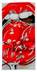 Cherry Lips Beach Towel