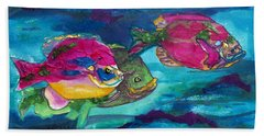 Cherry Toppers Beach Towel by Kathy Braud