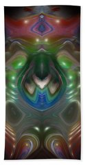 Beach Sheet featuring the digital art Cherub 5 by Otto Rapp