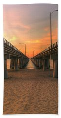 Chesapeake Bay Bridge IIi  Beach Towel