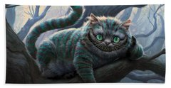 Cheshire Cat Beach Sheet by Movie Poster Prints