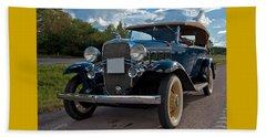 Chevrolet Confederate Ba Phaeton 1932 Beach Towel