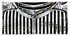 Chevy Truck Grill Beach Towel