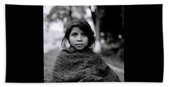 Chiapas Girl Beach Towel