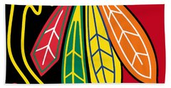 Chicago Blackhawks 2 Beach Sheet