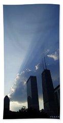 Chicago Sunset Beach Sheet