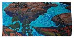 Chickanishing Creek Beach Towel by Phil Chadwick