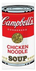 Chicken Noodle Soup Beach Sheet