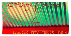 Chiefs Christmas Beach Towel