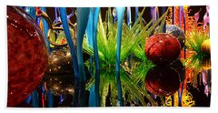 Chihuly-11 Beach Towel by Dean Ferreira