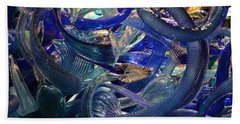 Chihuly-2 Beach Towel by Dean Ferreira
