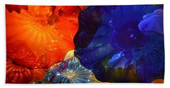 Chihuly-7 Beach Towel by Dean Ferreira