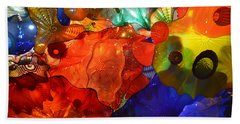 Chihuly-8 Beach Towel by Dean Ferreira