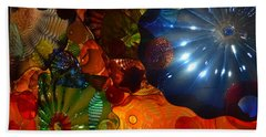 Chihuly-9 Beach Towel by Dean Ferreira