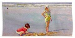 Children On The Beach Beach Towel