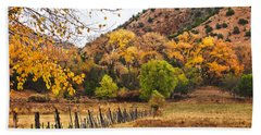 Chimayo Hills Beach Towel