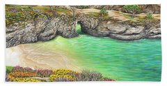China Cove Paradise Beach Towel by Jane Girardot