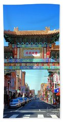 Chinatown Friendship Gate Beach Towel