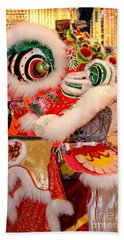 Chinese New Year Series 2015 - Dragon With Open Mouth Beach Towel