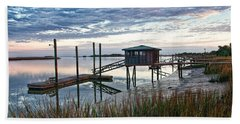Chisolm Island Docks Beach Towel