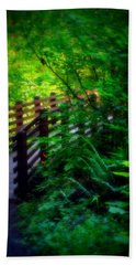 Beach Towel featuring the photograph Chosen Path by Amanda Eberly-Kudamik