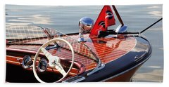 Chris Craft Deluxe Runabout Beach Towel