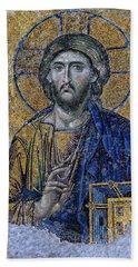 Christ Pantocrator -- Hagia Sophia Beach Towel