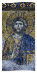 Christ Pantocrator IIi Beach Towel