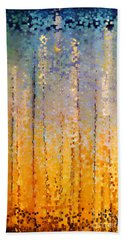 Christian Art- Everyone Who Calls. Romans 10 13 Beach Towel by Mark Lawrence